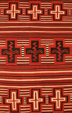 Southwest & Navajo (Made in Turkey) - 4'10'' x 7'10'' Flat Weave