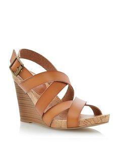 Gumdrop wedge heel sandals