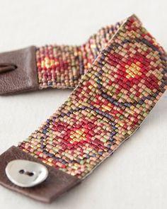 beaded loom bracelet patterns - Google Search