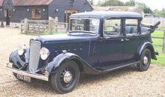 1938 Austin Six Mayfair Landaulette Chassis no. Vintage Cars, Antique Cars, Austin Cars, Old Garage, Taxi, Motor Car, Classic Cars, Fine Art, Vehicles
