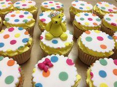 Children in Need spotty cakes!  Www.theowlbakery.com Cupcake Toppers, Cupcake Cakes, Cup Cakes, Children In Need Cupcakes, Christmas Arts And Crafts, Christmas Foods, Bake Sale, Celebration Cakes, No Bake Cake