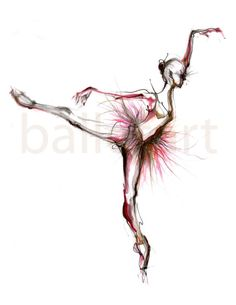 The ballerina via Etsy