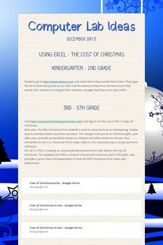 This is a great site with technology lesson plans for elementary ...
