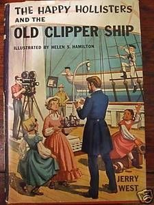 Second Silver - The Happy Hollisters books The Old Clipper Ship Missile Town Merry Go Round Jerry West