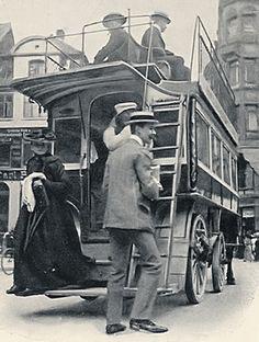 1907 Kopenhagen - Pferdeomnibus ☺
