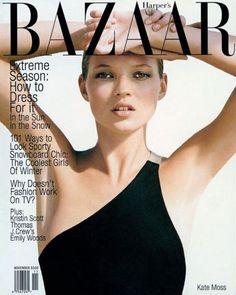 Kate Moss's best BAZAAR covers