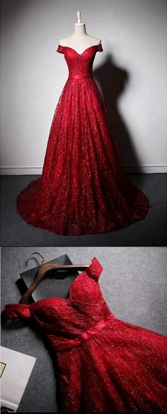Off The Shoulder A-Line Prom Dresses,Long Prom Dresses,Cheap Prom Dresses, Evening Dress Prom Gowns, Formal Women Dress,Prom Dress #EveningDresses
