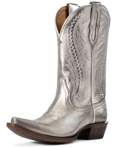 Cowboy Boots Women, Cowgirl Boots, Western Boots, Riding Boots, Silver Boots, Grey Boots, Women's Boots, Teen Girl Shoes, Timberland Style