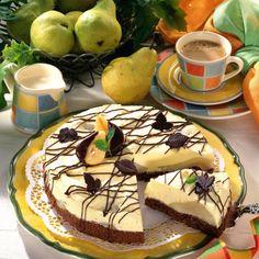 Mascarpone-Torte Birne Helene Rezept | LECKER