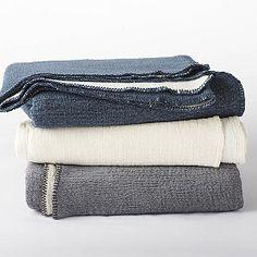 Coyuchi Cozy Cotton Blanket / Throw