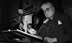 English composer Ralph Vaughan Williams in 1956 The Lark Ascending