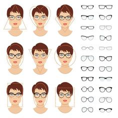 Trendy Glasses For Your Face Shape Round Eyewear Eyeglasses Ideas Frames For Round Faces, Glasses For Round Faces, Glasses For Face Shape, Cute Glasses, Diamond Face Shape Glasses, Sunglasses For Your Face Shape, Round Face Sunglasses, Sunglasses Women, Eyeglasses For Women Round Face
