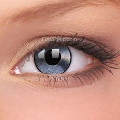 Mirrored Silver Contact Lenses (Pair)