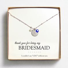 Bridesmaid Jewelry - Cathy's Concepts
