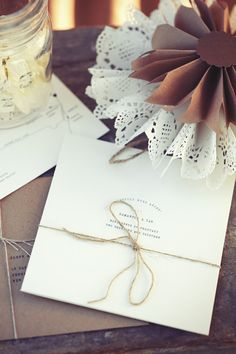 Creative and unique wedding invitation