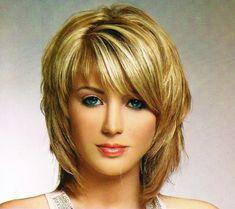 shag hairstyles for medium length hair shag chin length hair Most ...