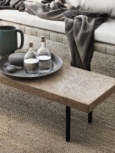 Ikea's new Sinnerlig collection promises beautiful quality at the same attainable price points. The bench ($119) can be used with the dining table or as a narrow coffee table for small spaces. The seagrass rugs are the perfect neutral ground coverings ($20-$70).
