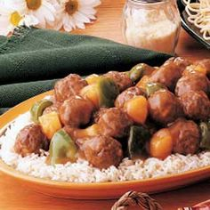 Sweet-and-Sour+Meatballs...on a search for beef dishes the kids will eat!