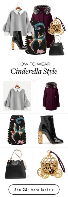 """""""Untitled #302"""" by ema-jones on Polyvore featuring Lands' End, Valentino, Dolce&Gabbana and Tom Ford"""