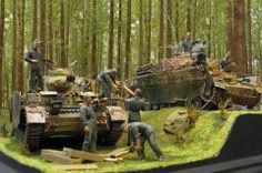 Pz.Kpfw.IV mit Thoma Schurtzen diorama