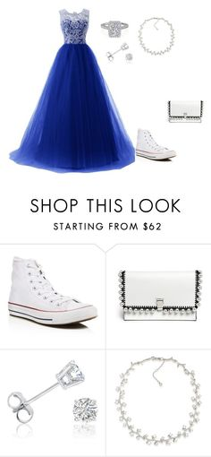 """prome"" by savannah-elise-beerman on Polyvore featuring Converse, Proenza Schouler, Amanda Rose Collection and Carolee"