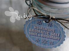 Daisy Handmade: Un progetto al giorno 4/24:homemade aromatic salt, sale aromatizzato
