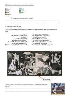 Les quichotteries de Delphine: HDA Guernica, Spanish Class, Learning Spanish, Pablo Picasso, Culture, Desktop, Orange, Art History, Spanish