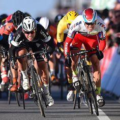 KuurneBxlKuurne 2015 Exciting sprint between Alexander Kristoff and Mark Cavendish @tdwsport