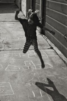Hopscotch by Ellen Giamportone