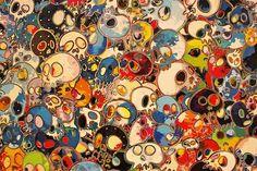 Takashi Murakami - skulls