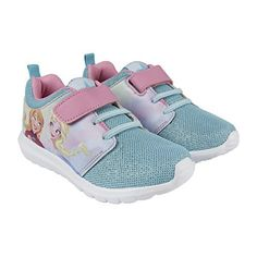 ICYMI: Disney La Reine des Neige 2300002950 Chaussons Sneaker Fille, Baskets Mode, Bleu: Disney La Reine Des Neige 2300002950 Chaussons…