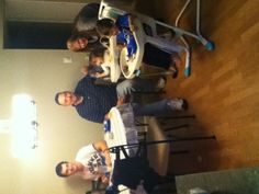 Here's Alex's third birthday I believe. Matt, Jaime, Riya, Holly, and Alex. (Taylor took the picture)