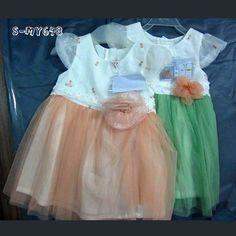 Printed flower cotton spring dresses mesh ruffle skirt for girls contact:moon01@moonyao.com  #GirlClothing #KidsClothing #GirlDress #KidsDress