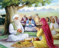 Mata Ganga Ji, the blessed wife of Guru Arjan Dev Ji and blessed mother of Guru Hargobind Ji Guru Angad Dev Ji, Guru Hargobind, Guru Nanak Ji, Guru Ram Das, Baba Deep Singh Ji, Duleep Singh, Guru Arjan, Guru Nanak Wallpaper, Golden Temple Amritsar