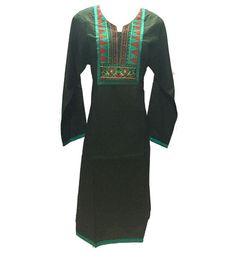 Black cotton kurti #black #dress #indowesternkurti #kurti