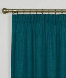 Impressive Teal Velvet Curtains and Clarke And Clarke Altea Velvet Curtains Luxury Velvet Made To 27480 is just one of photos of Curtains ideas for your re Teal Curtains, Pleated Curtains, Blue Velvet Curtains, Teal Cushions, Curtain Styles, Made To Measure Curtains, Pencil Pleat, Blinds, Silk
