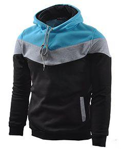 Mooncolour Mens Novelty Color Block Hoodies Cozy Sport Autumn Outwear, Black, US Large Mooncolour http://www.amazon.com/dp/B00MIRWLCS/ref=cm_sw_r_pi_dp_Gn6Uwb1YRDH9F