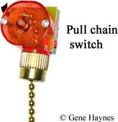 How to wire fan switch Ceiling Fan Switch, Ceiling Fan Pulls, Pull Chain, Home Improvement, Wire, Home Improvements, Cord, Interior Design, Home Improvement Projects