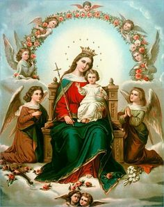 Blessed Mother Mary & baby Jesus......