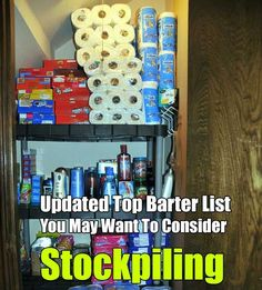 Updated Top Barter List You May Want To Consider Stockpiling - SHTF, Emergency Preparedness, Survival Prepping, Homesteading