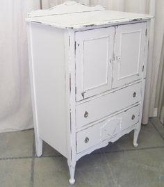 Shabby White 1920's Dresser