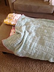 Ravelry: Lined Blanket pattern by Sandi Prosser