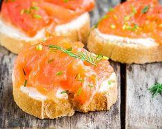 Toasts aux 2 saumons