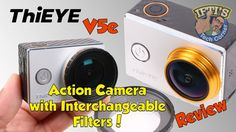 ThiEye V5e : Budget Action Camera with Interchangeable Filters! - REVIEW...