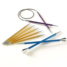would like to test them, the possibility of chosing your point (from sharp to almost blunt) and the endings, that makes that you can really have personalized needles, especially for you... a dream:-)