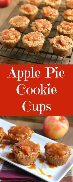apple-pie-cookie-cups #ad