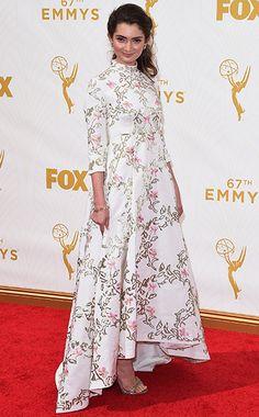 Emily Robinson - Emmy Awards 2015 - Red Carpet Arrivals
