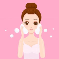 Beautiful Face With Whip Foam Cleanser Flower Background Wallpaper, Cute Girl Wallpaper, Flower Backgrounds, Photography Tips Iphone, Romantic Couples Photography, Character Design Girl, Spots On Face, Cosmetic Shop, Retro Vector