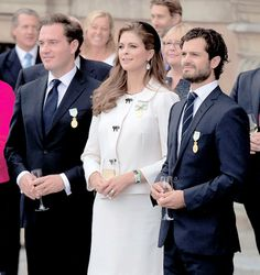 chris o'neill, Princess Madeleine and Prince Carl Philip