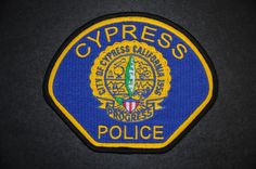 Cypress Police Patch, Orange County, California (Vintage 1999-2010 - 5th Issue)
